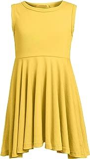 Áo quần dành cho bé gái – Toddler Girl Sleeveless High Low Swing Spinning Skater Dress