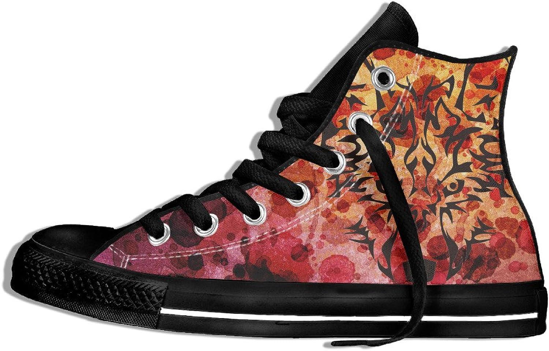 Yo Ou Tiger High-Top Canvas Sneaker