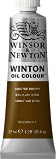 Winsor & Newton Winton Oil Colour Paint, 37ml tube, Vandyke Brown