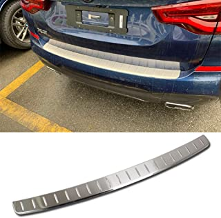 Beautost Fit for BMW New X3 Sport 2018 2019 Rear Outside Bumper Sill Plate Guard Cover Trim Stainless