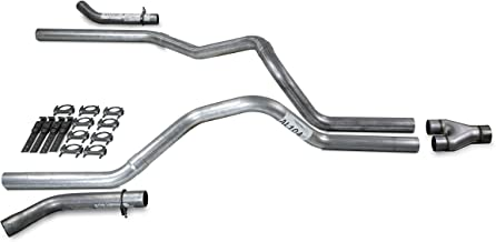 XsvFLO Exhaust Kits Shopline dual exhaust system 3in duals AL pipe 1 chamber muffler