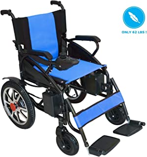 Culver 2019 New Model Electric Wheelchair - Best Foldable Lightweight Best Heavy Duty Lithium Battery Electric Power