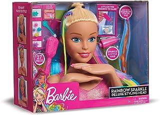 Giochi Preziosi Barbie-Rainbow Busto Deluxe, Multicolor (4