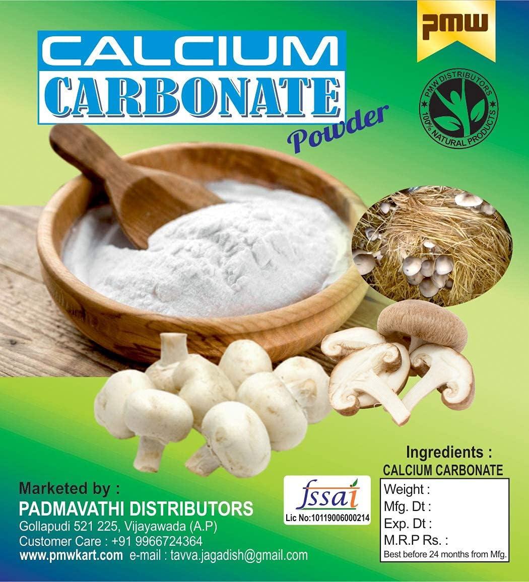 Shivay Pmw - Calcium Washington Mall Carbonate Kilo Save money Cultivation for 1 Mushroom