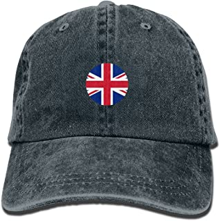 Jusxout Flag British Cute Unisex Adjustable Baseball Cap Dad Hat
