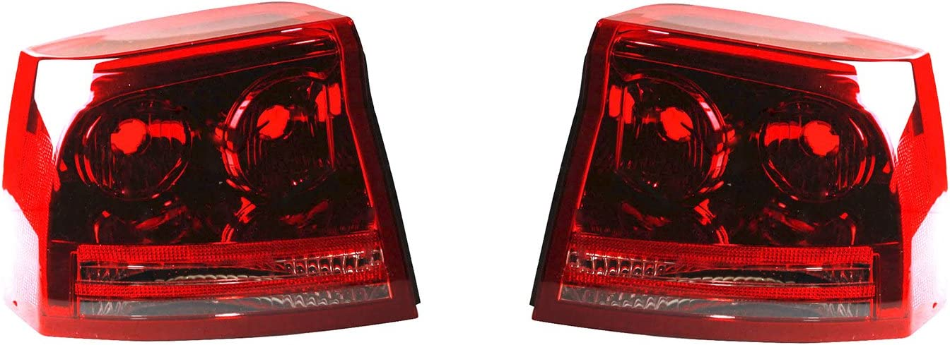 Rareelectrical NEW PAIR OF TAIL At the price of surprise WITH CHA DODGE LIGHTS Ranking TOP5 COMPATIBLE