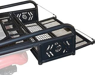 Kolpin 53300 ATV Rear Drop Basket Rack Collapsible Tailgate Universal