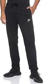Nike Men's Club Oh Jsy Pants, Black (Black/White), Medium