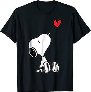 Heart Sitting Snoopy T-Shirt