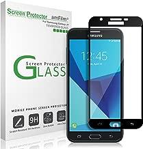 amFilm Glass Screen Protector for Galaxy J7 V 2017 Dot Matrix, Case Friendly, Full Screen Coverage