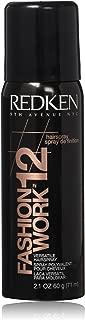 Redken Fashion Work No.12 Hair Spray, 2.1 Ounce