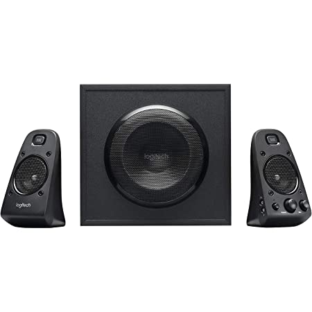 Logitech Z623 Sound Systems 2 1 Thx Stereo Speakers Computers Accessories