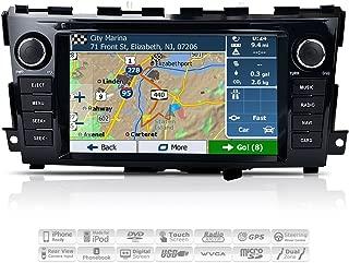 AIMTOM AMN-8590-MB 2013-2017 Nissan Altima In-dash GPS Navigation Stereo FM AM Radio Bluetooth DVD CD Deck 8