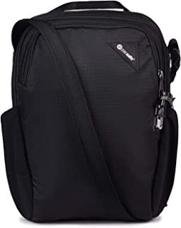 Vibe 200 Anti Theft Compact Travel Jet Black Shoulder Bag