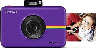 Polaroid Snap Touch - Cámara digital con impresión instantánea y pantalla LCD con tecnología Zero Zink púrpura