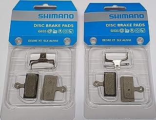 Tuning Pedals Shimano g02s, Lot DE 2Plaquettes de Frein pour Avant et Arrière, y-8ww98020