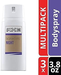 AXE Dry Spray Antiperspirant Deodorant, Signature Night, 3.8 oz, 3 ct