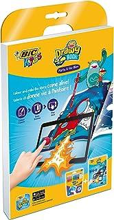 Bic Kids Magic/Marty Pack de 12 Feutres de coloriage + Livre de dessin