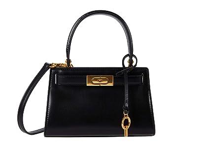 Tory Burch Lee Radziwill Petite Bag (Black) Cross Body Handbags