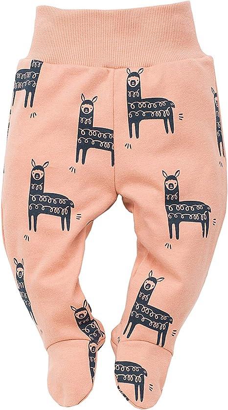 T/ürkis Orange oder Graphite Lama Pinokio Happy Llama elastischer Bund Baby Hose//Strampler Hose 100/% Baumwolle Schlafhose mit F/ü/ßen