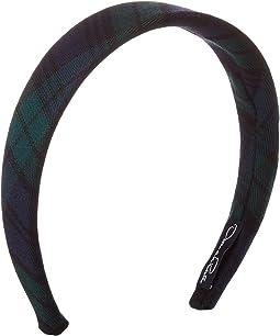 Plaid Cotton Wool Headband (Little Kid/Big Kid)