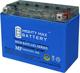 Mighty Max Battery YTX24HL-BS Gel Replaces Yamaha Virago XV 920, 1000, 1100 XVZ Royale Brand Product