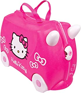 Trunki: The Original Ride-On Suitcase New, Hello Kitty (Pink)
