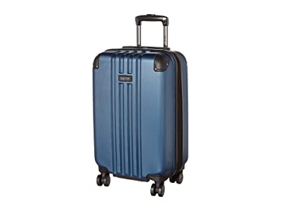 Kenneth Cole Reaction 20 Reverb Lightweight Hardside Expandable 8-Wheel Spinner Carry-On Suitcase (Ice Blue) Luggage