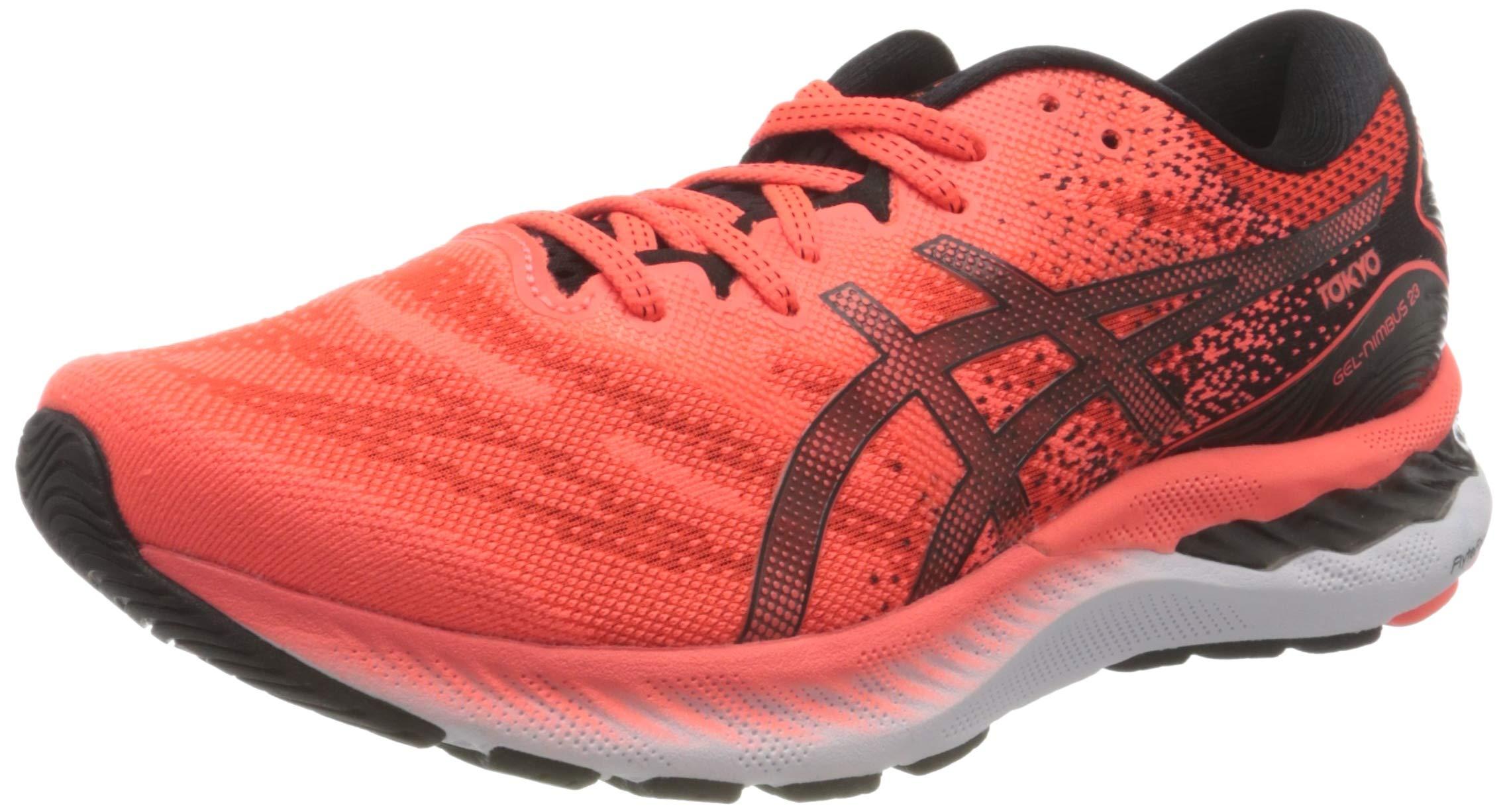 ASICS Herren Gel-Nimbus 23 Tokyo Running shoes, Rot (Sunrise Red/Black), 41.5 EU