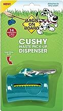 Bags on Board Cushy Dog Waste Pickup Bag Dispenser for Leash