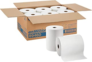 "enMotion 10"" Paper Towel Roll by GP PRO (Georgia-Pacific), White, 89460, 800 Feet Per Roll, 6 Rolls Per Case"