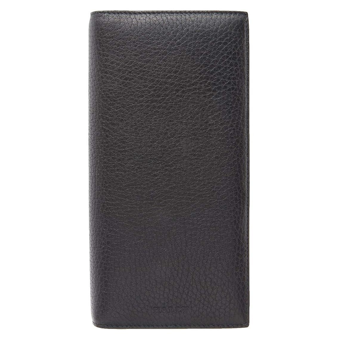組達成破壊[BALLY(バリー)] 二つ折り 長財布 STRADDOK カーフレザー 黒 ブラック 6208053001 メンズ (M207004) [並行輸入品]
