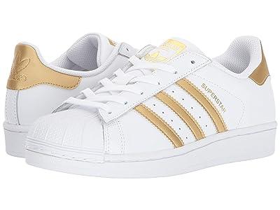 adidas Originals Kids Superstar (Big Kid) (Gold) Kids Shoes