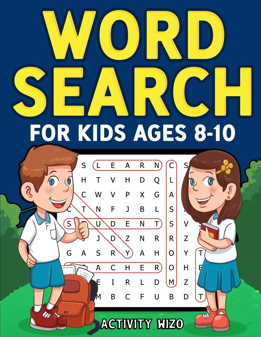 Image OfWord Search For Kids Ages 8-10: Practice Spelling, Learn Vocabulary, And Improve Reading Skills With 100 Puzzles