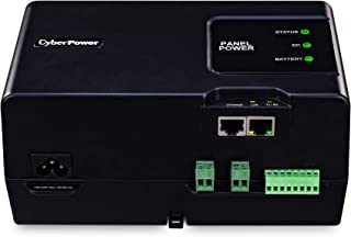 CyberPower BAS34U24V Automation System UPS Series, 14.8V/6500mAh Li-Polymer Rechargeable Battery, 3 Outlets, TS35 DIN Mount