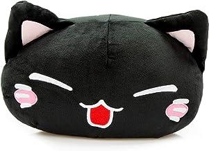 Nemu Neko Super Soft Schwarz Plüsch Katze Manga Anime Otaku