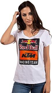 Red Bull KTM Emblem T-Shirt, Ladies Shirt, KTM Factory Racing Original Clothing & Merchandise