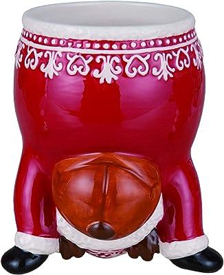 Humorous Upside-Down Holiday Character Christmas Mug – Christmas Tableware (Reindeer)