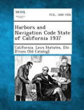 Harbors and Navigation Code State of California 1937
