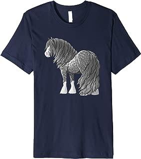 Dapple Gray Gypsy Vanner Irish Cob Draft Horse Premium T-Shirt