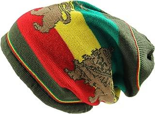 Rasta Lion Dread Knit Hats