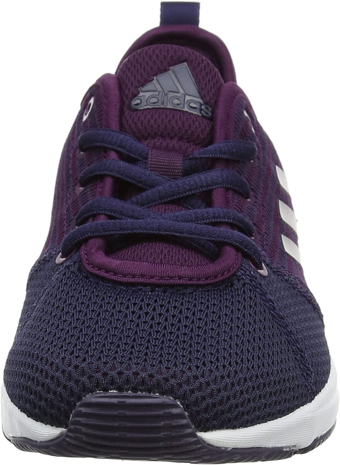 adidas Damen Arianna Cloudfoam Fitnessschuhe Rot Red Night Noble Ink Tech Silver Metallic