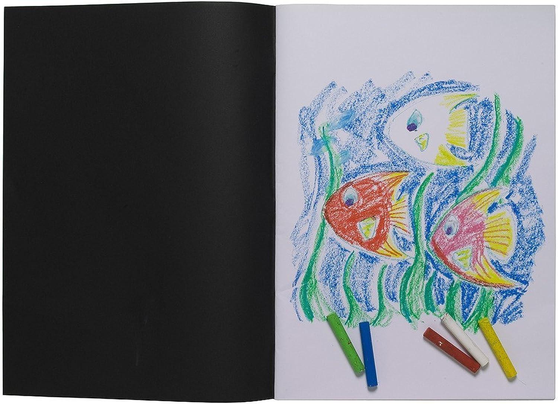 5 x A3 Artist Sketch Books Weiß Cartridge Paper schwarz schwarz schwarz Card Cover Art Pads B00L2MH9EA | Moderate Kosten  5c14bb