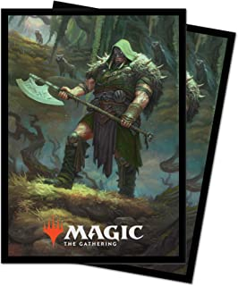 Magic: The Gathering Throne of Eldraine - Garruk, Cursed Huntsman Deck Protector Sleeves (100 ct.)
