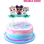 LOL Cake Topper, 1stBirthdayToppers, Cute Girls Dolls Bday Decorations Theme Party - Double...