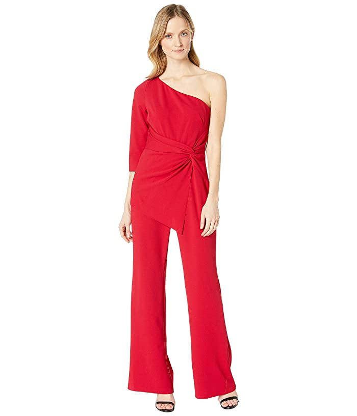 aaa7c04b6c5fb0 Adrianna Papell One Shoulder Jumpsuit at Zappos.com