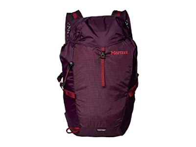 Marmot Kompressor (Dark Purple/Brick) Backpack Bags