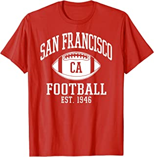 San Francisco Football | Vintage SF Cali Retro Gameday...