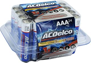 ACDelco AAA Batteries, Alkaline Battery, 24 Count