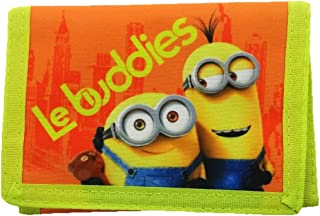 Blue//YELLOW MINIONS004001 AGE 3+ Despicable Me Minions Wallet Coin Pouch 13 cm